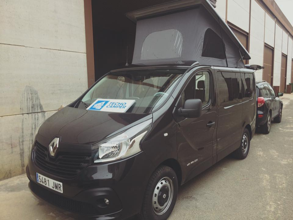 renault traffic techo elevable