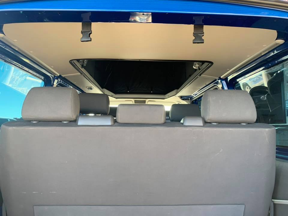 techo elevable Volkswagen multivan techocamper