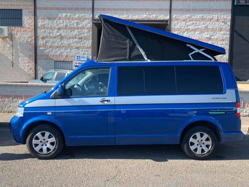 techo elevable Volkswagen multivan techocamper